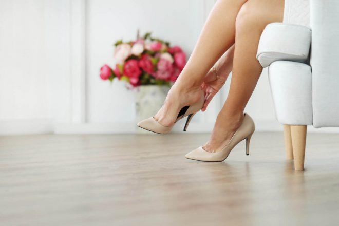 美しい靴を履く