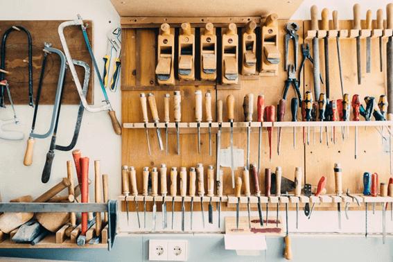 DIYに必要な工具・道具の種類と選び方