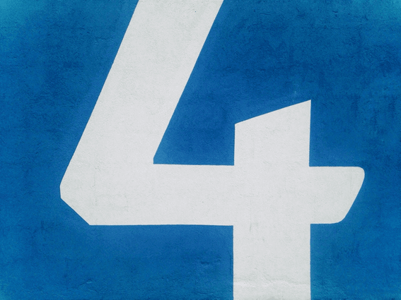 カバラ数秘術の運命数4の意味と基本情報