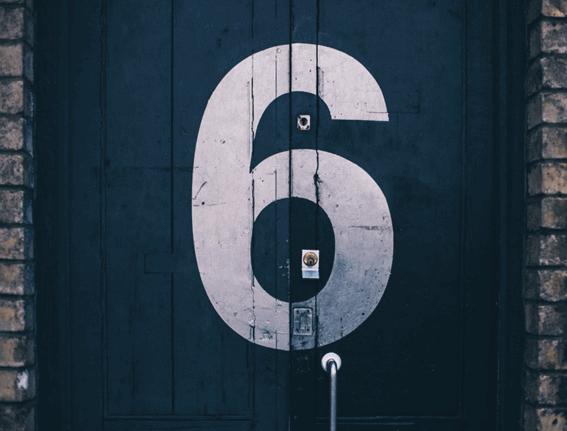カバラ数秘術の運命数6の意味と基本情報
