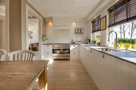 システムキッチンの引き出しの収納方法