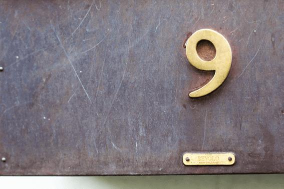 カバラ数秘術の運命数9の意味と基本情報