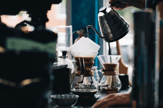 コーヒーの基本的な抽出方法の種類と味の特徴