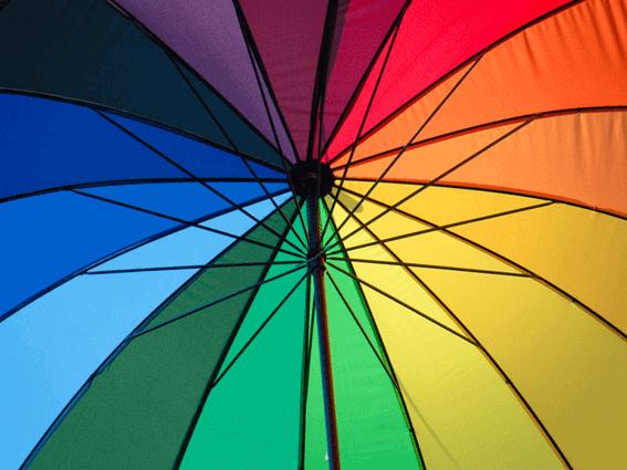 カラーセラピーでは色の意味を重視する
