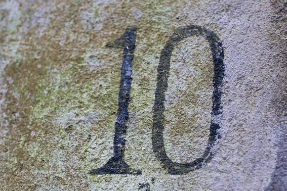 数秘術のナンバー10とは?エンジェルナンバーとしての意味を解説