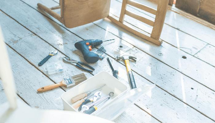 DIYでよく使う道具