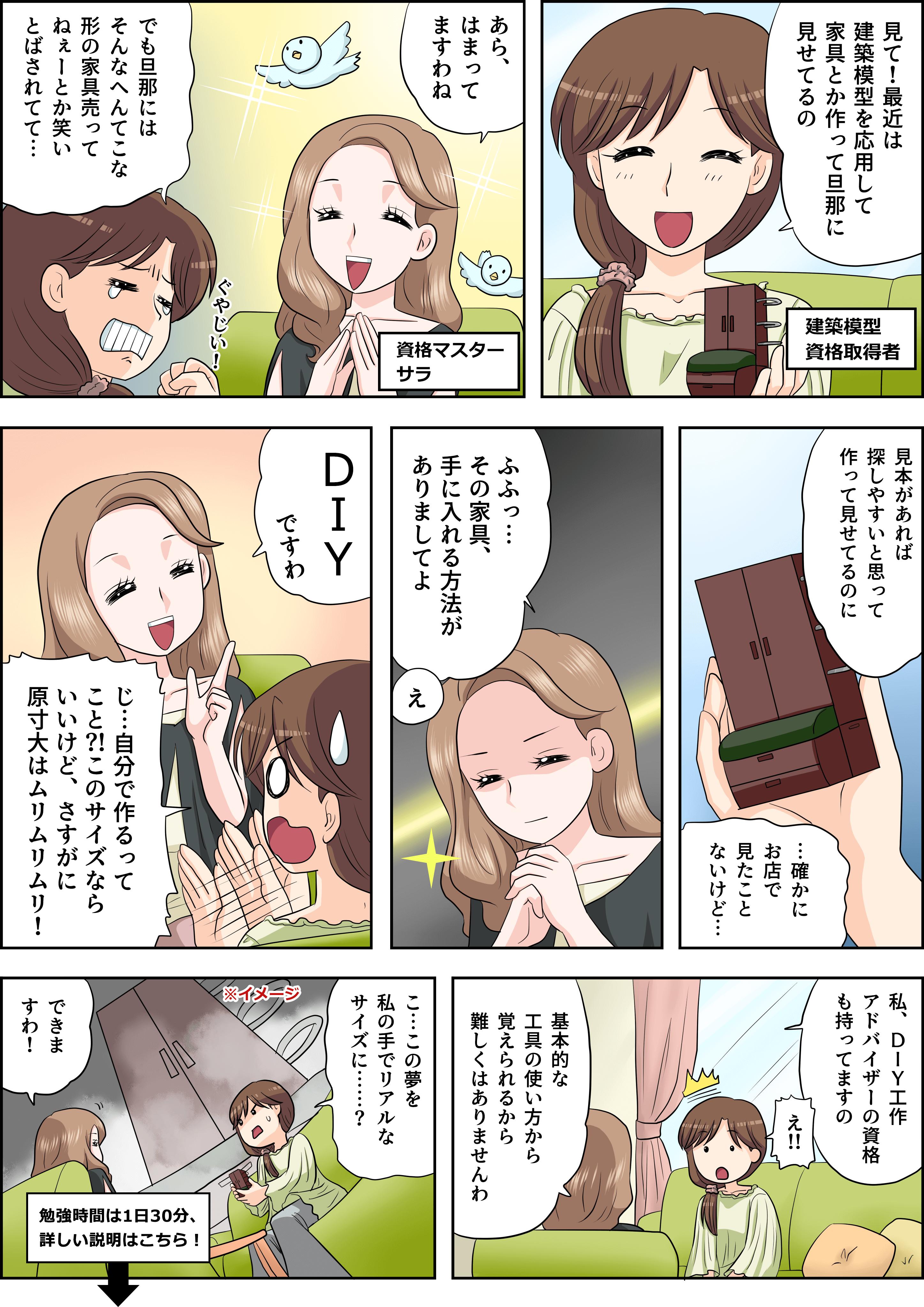 DIYの漫画