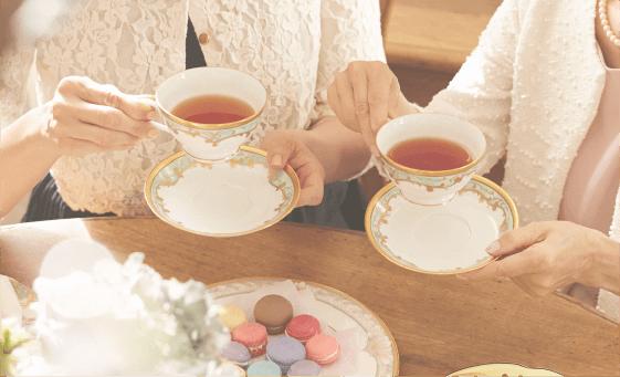 大切な家族やパートナーへ。紅茶で癒しのひとときを!