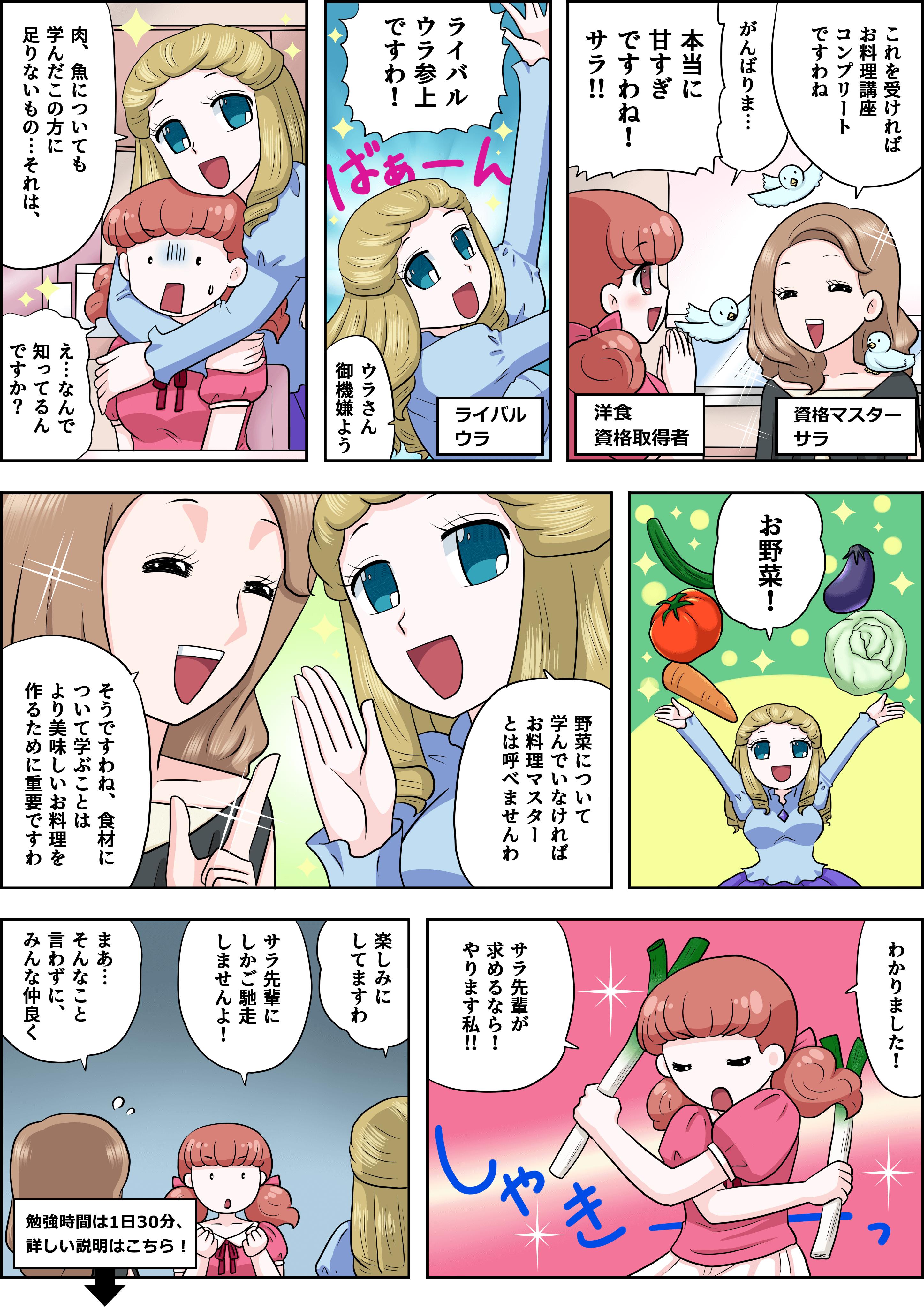 野菜の漫画