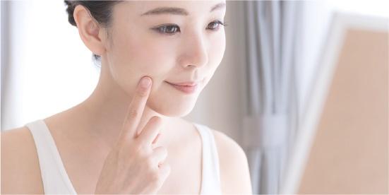 肌荒れの予防や改善