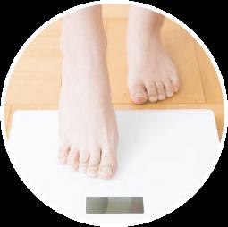 代謝機能が衰えて太りやすい人