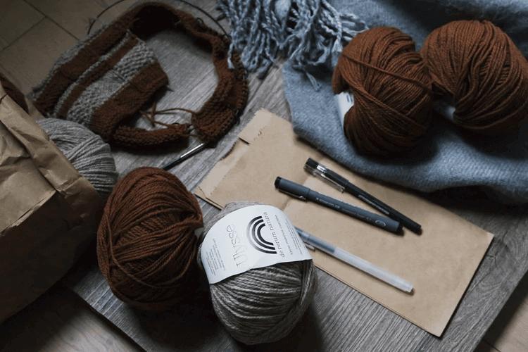 編み物を始めるために必要な物って?