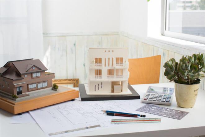 作る範囲で分類される建築模型