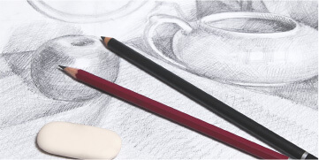 鉛筆デッサン資格講座