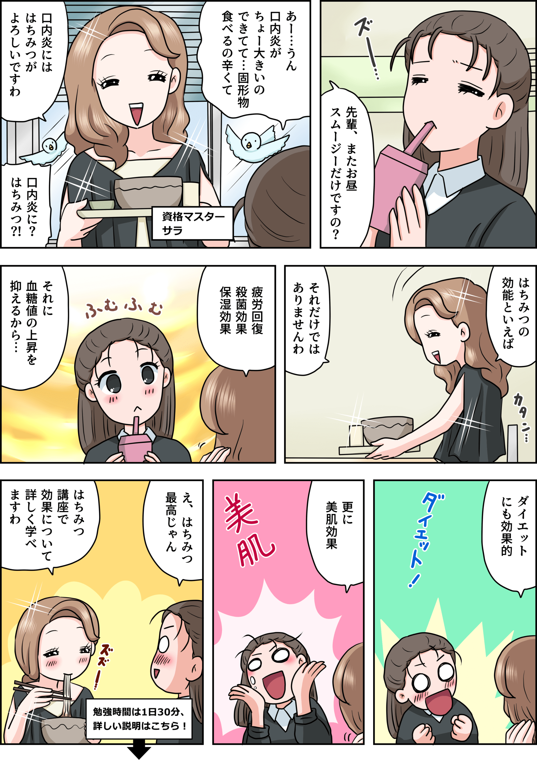 はちみつの漫画