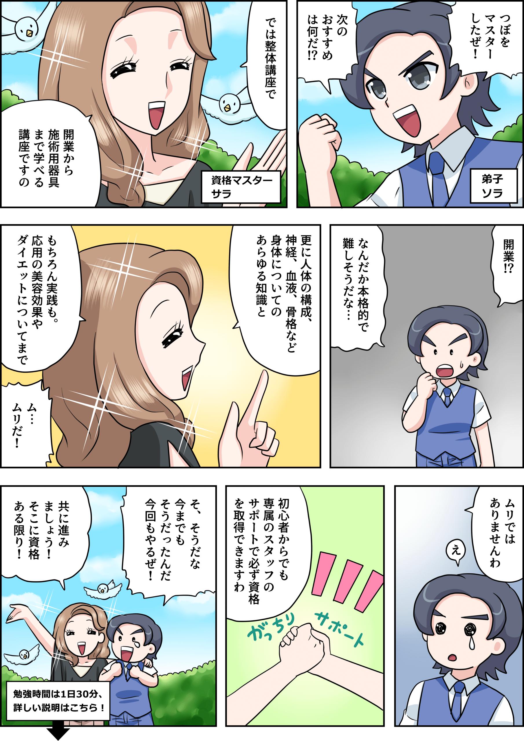 整体の漫画