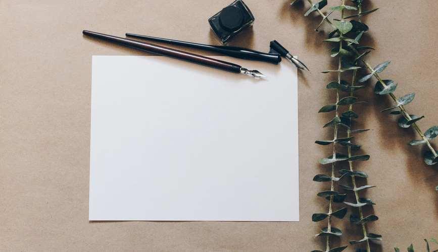 カリグラフィーとはさまざまな字体を美しく書き上げること!